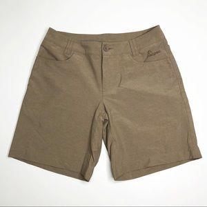 Macpac Sandy Khaki Hiking Activewear Shorts 8